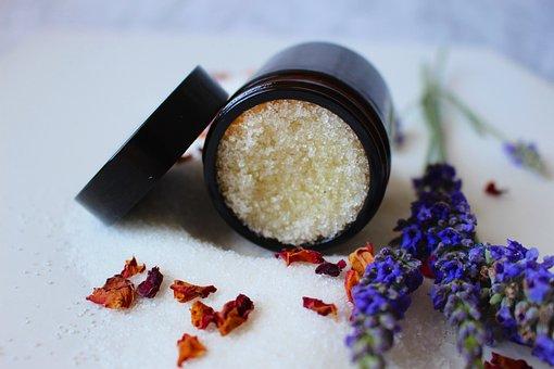 Natural Cosmetics, Cosmetics, Beauty, Lavender, Sugar
