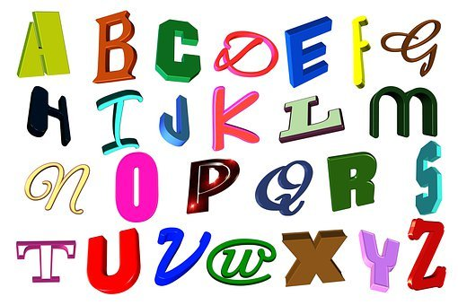 Letters, Alphabet, Learn, Training, Abc, Education