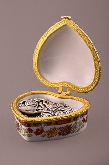 Box, Jewelry, Gift, Luxury, Nobody, Surprise