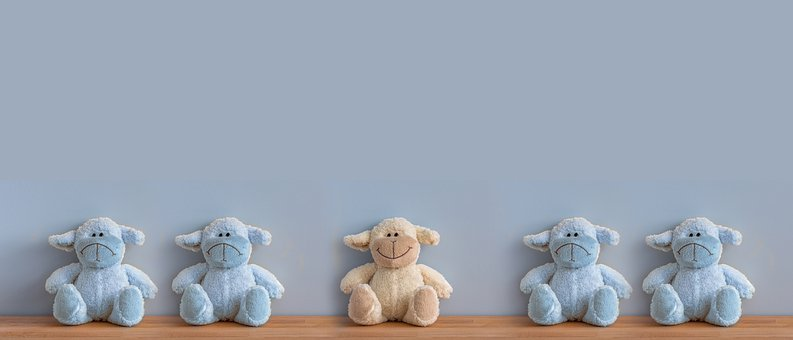 Teddy Bears, Stuffed Animals, Toys, Smile, Positive