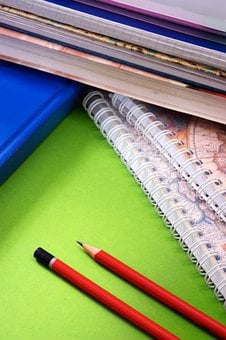Pencils, Notebook, Education, Spiral, Paper, Notes