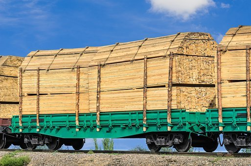 Wagon, Board, Building, Cargo, Cross, Delivery, Empty