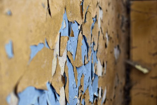 Plaster, Wall, Crash, Will, Antique