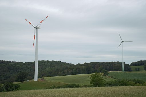 Wind Power, Langenberg, Germany, Wind Energy, Windräder