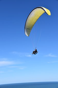 Paragliding, Paraglider, Paraglider Wing, Aircraft, Fly