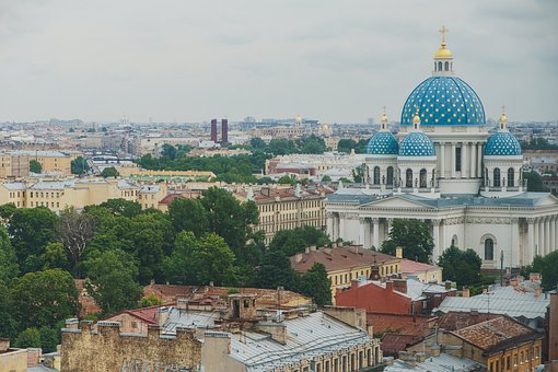 Cathedral, Building, Dome, Architecture, Panorama, View
