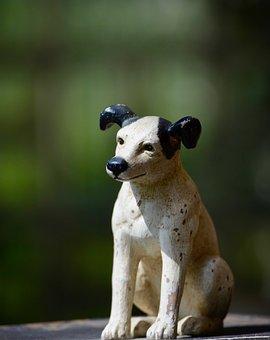 Dog, Animal Figure, Figure, Sculpture, Deco, Decoration