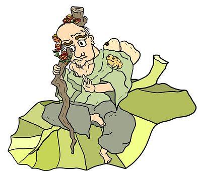 Man, Old, Character, Chinese, Mythological, Li Tieguai