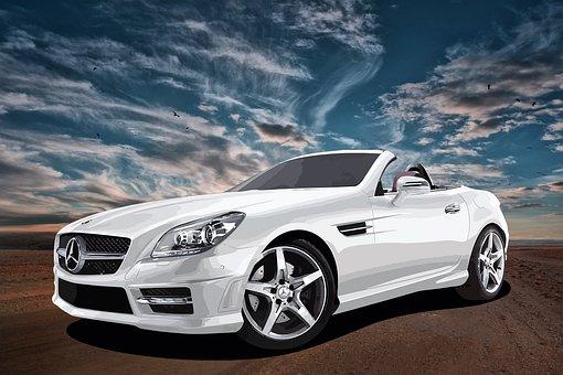 Car, Convertible, Vehicle, Mercedes-benz, Luxury, Auto