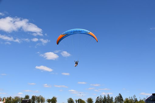 Paragliding, Paraglider, Aircraft, Fly Free, Fly