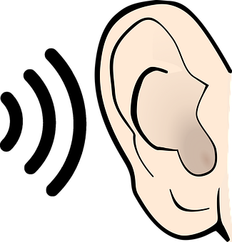 Ear, Hear, Sound, Listen, Icon, Noise, Audible