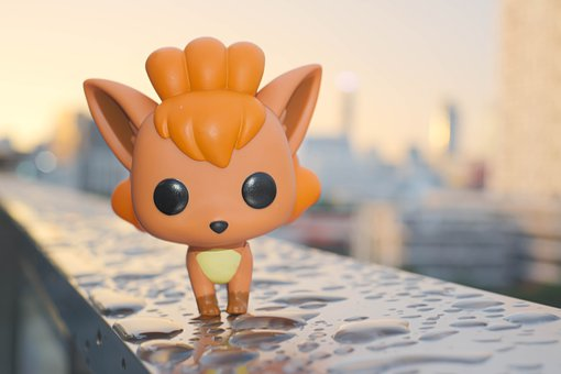 Pop, Funko, Pokemon, Toy, Vulpix, Rokon, Evening, Views