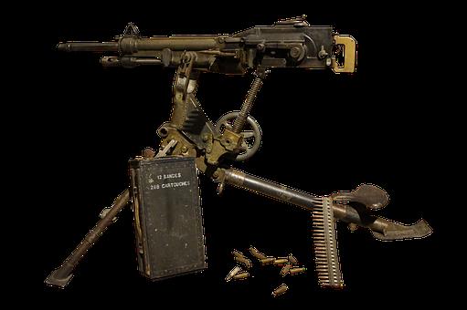 Machinegun, Weapons, Automatic