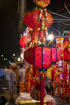 Lantern, New Year, Decoration, Decorative, Traditional