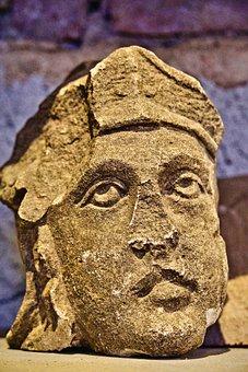 Sculpture, Face, Stone, Statue, Figure, Museum, Head