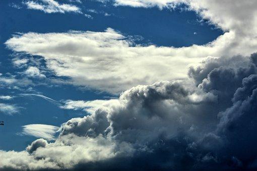 Landscape, Clouds, Sky, Storm, Heavy, Hdr