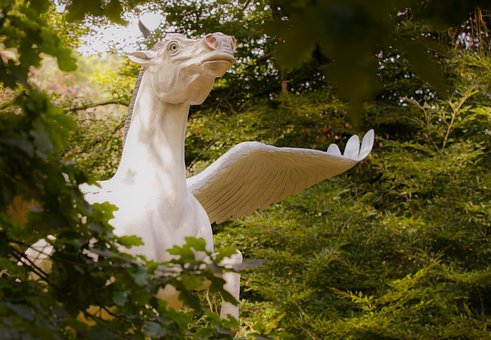 Pegasus, Horse, Fairytale, Mystical, Magical