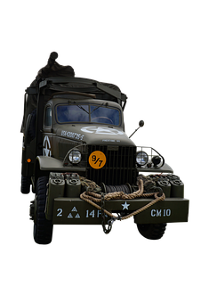 Truck, Military, Old, Transportation