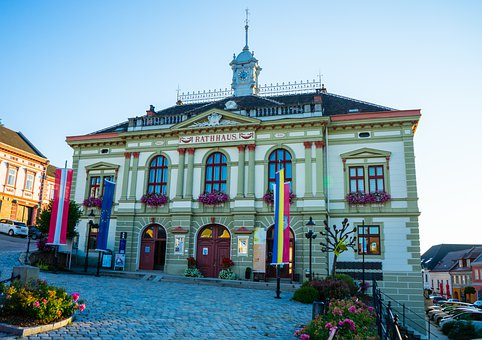 Building, Town Hall, Facade, Architecture, City