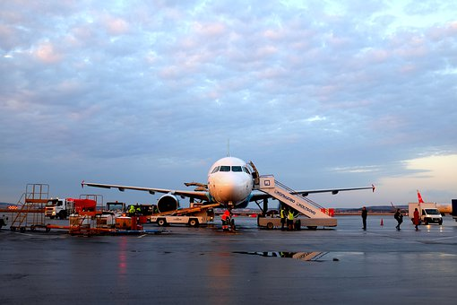 Aircraft, Airplane, Airline, Airport, Arrival, Aviation