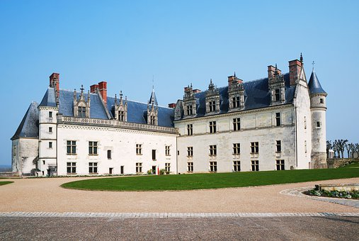 Castle, Royal, Chateau, Amboise, Landmark, Architecture