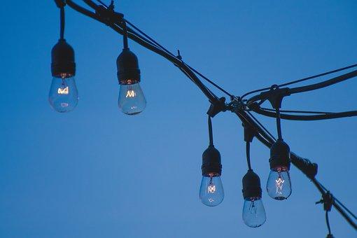 Hanging Lights, Light Bulbs, Lights, Retro, Hanging