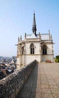 Chapel, Royal, Chateau, Amboise, Gothic, Landmark
