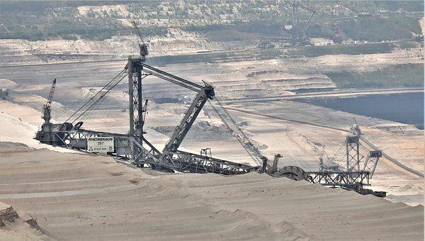 Excavators, Coal Mining, Machine, Industry