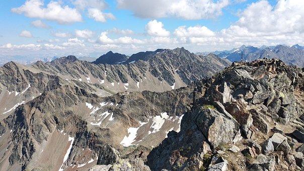Mountains, Alps, Peaks, Alpine, Landscape, Europe