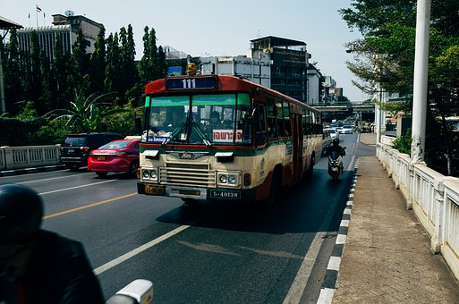 Bus, Public Transportation, Truck, Road, Auto