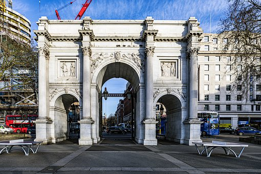 Buildings, Marble Arch, Gateway, State Entrance, Road