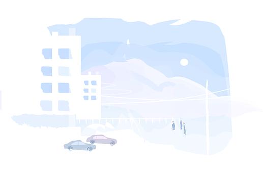 Mountain, Travel, Hotel, Landscape, Parking, Holidays
