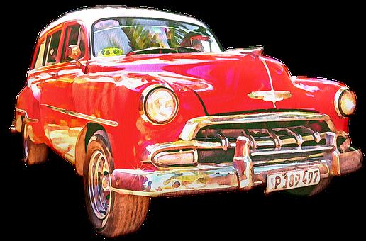 Car, Vehicle, Retro, Vintage, Transport, Transportation