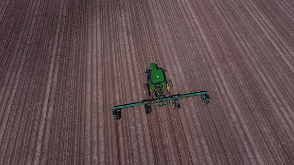 Agriculture, Farming, Farmer, Planting, Planter