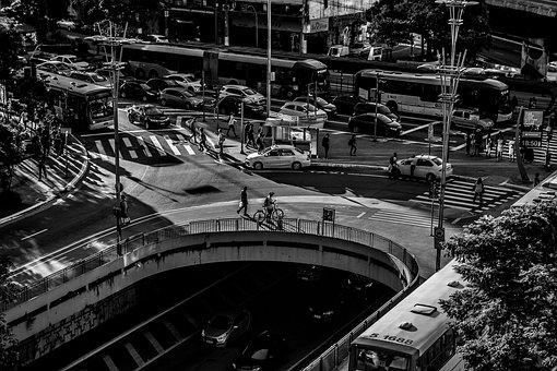 Traffic, City, Metro, Station, Metropolis, Urban