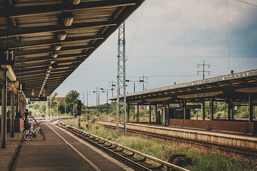 Station, Platform, Railway, Train, Metro, Architecture