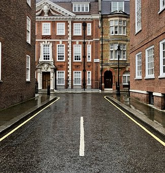Road, Street, Corner, Buildings, Urban, Architecture