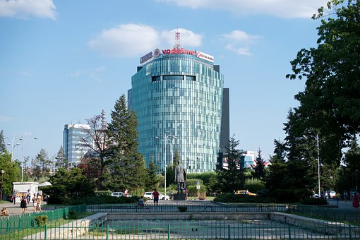 Building, Modern, Architecture, Park, Cityscape, Trees