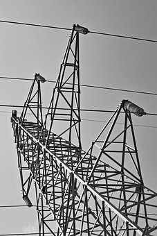 Lap, Transmission Lines, Electricity, Metal, Energy