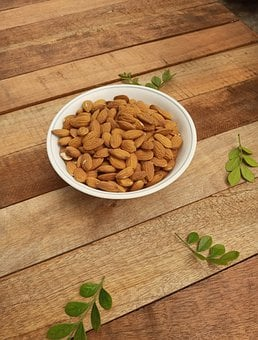 Almonds, Nuts, Healthy Food, Food, Chocolate, Diet