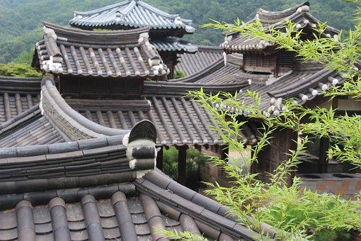 Buildings, Roofs, Oriental, Architecture, Culture