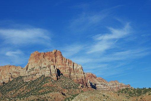 Zion, Utah, Ut, National, Park, Nature, Outdoor