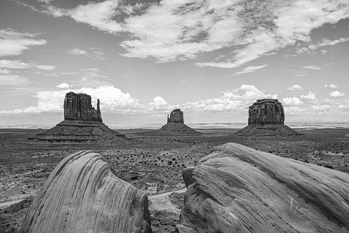 Monument Valley, Desert, Landscape, Arizona, Usa, Utah