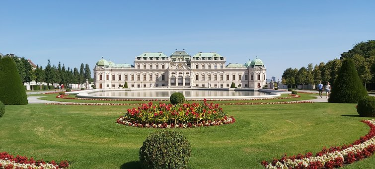 Palace, Baroque, Building, Architecture, Vienna