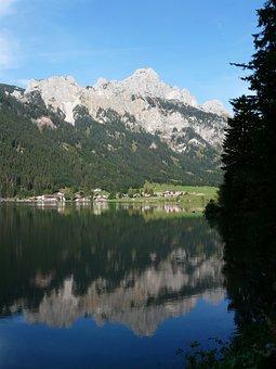 Haldensee, Allgäu Alps, Alpine, Mountains, Tannheim