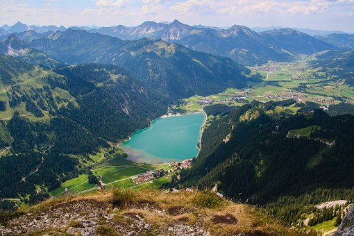 Mountains, Alpine, Tannheim, Haldensee, Hiking