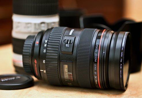 Lens, Canon Lens, Zoom Lens, Camera Optics, Lenses