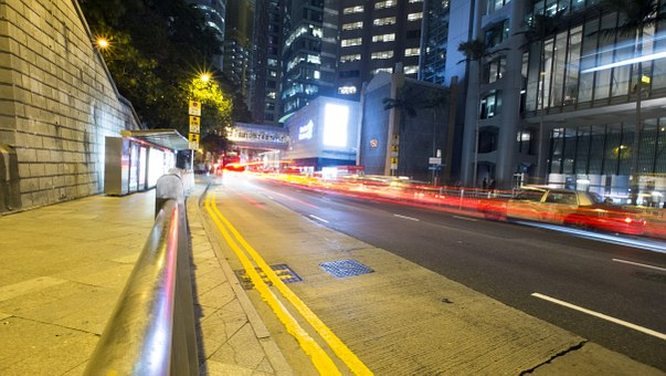 The Automobile, Hong Kong, Hk, Hongkong, Car Flow