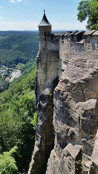 Fortress Doncaster, Saxon Switzerland, Tower, Castle
