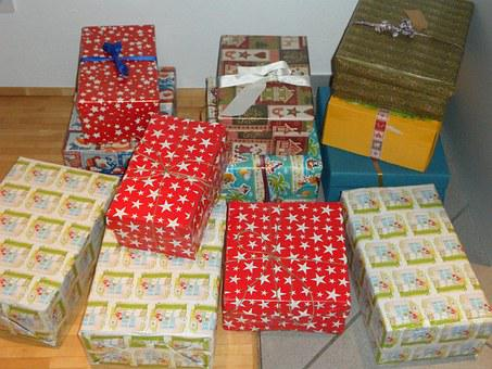 Made, Gifts, Christmas, Christmas In A Shoe Box, Packed